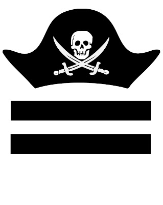 free printable pirate hat
