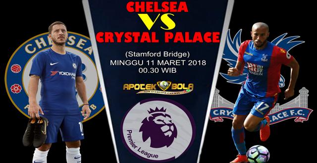 Prediksi Chelsea vs Crystal Palace 11 Maret 2018