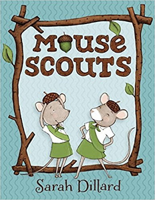 This Mouse Scout book will make a great gift for your Daisy Scouts
