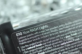 Review: CATRICE Update Produkte Herbst/Winter 2017 - Matt & Glow Eyebrow Palette - www.annitschkasblog.de