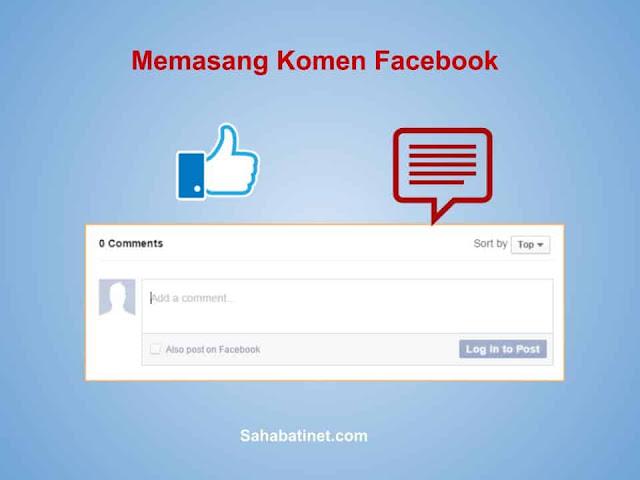Memasang Komen Facebook di blogspot