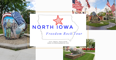 North Central Iowa Freedom Rock Tour - the perfect family road trip