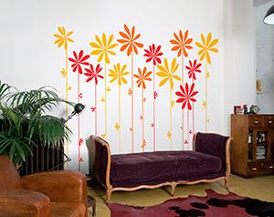 Роспись стен в различных техниках