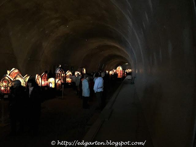 Iffelen im Tunnel (Südumfahrung) in Küssnacht am Rigi