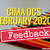 CIMA February 2020 -  OCS Exam Survey and feedback