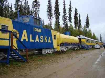 The Aurora Express Fairbanks, Alaska