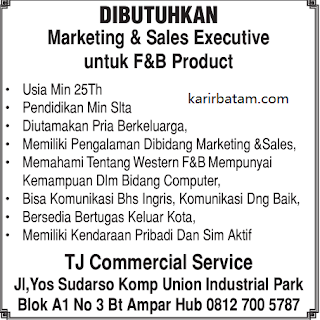 Lowongan Kerja TJ Commercial Service