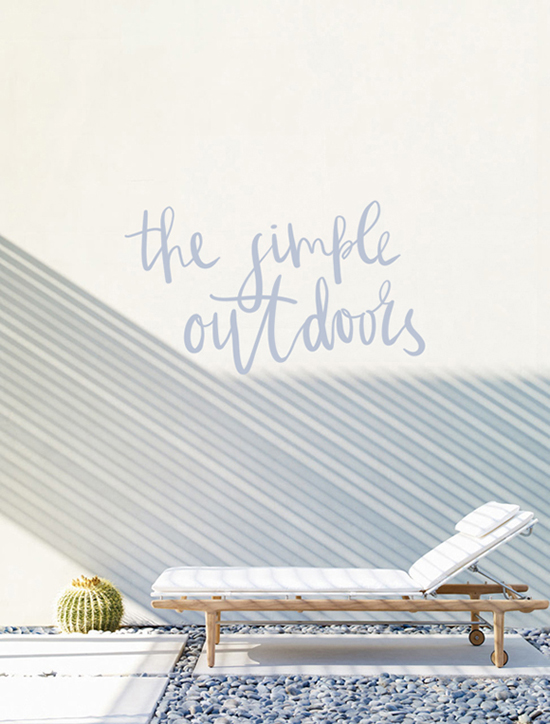 The simple outdoors by Norm