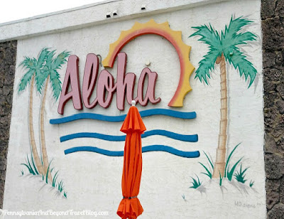 Aloha Oceanfront Motel in North Wildwood, New Jersey Artwork by MG Signs