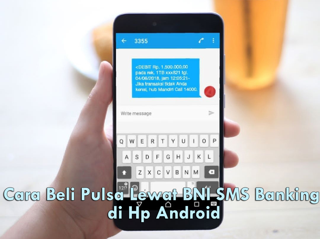 Cara Beli Pulsa Lewat BNI SMS Banking