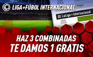 sportium Fútbol: Haz 3 Combinadas y recibe 1 Gratis hasta 21 abril