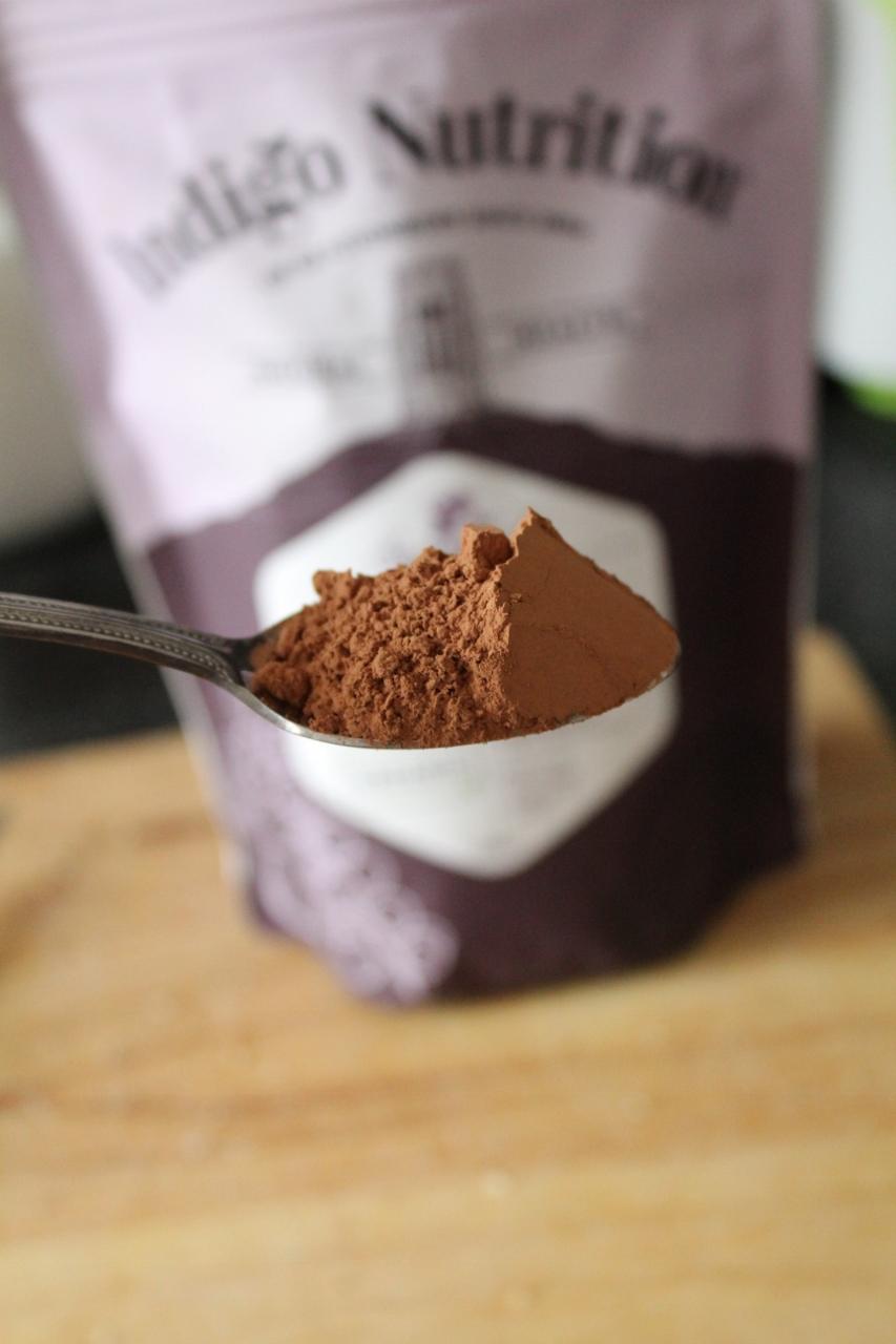 Indigo herbs cacao powder organic