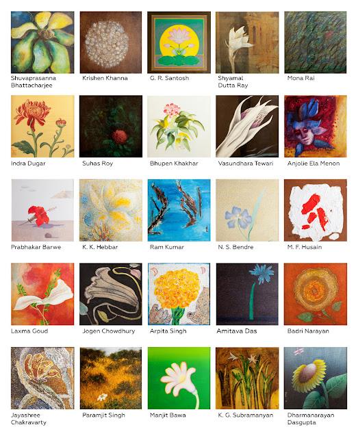 MAP, flower paintings