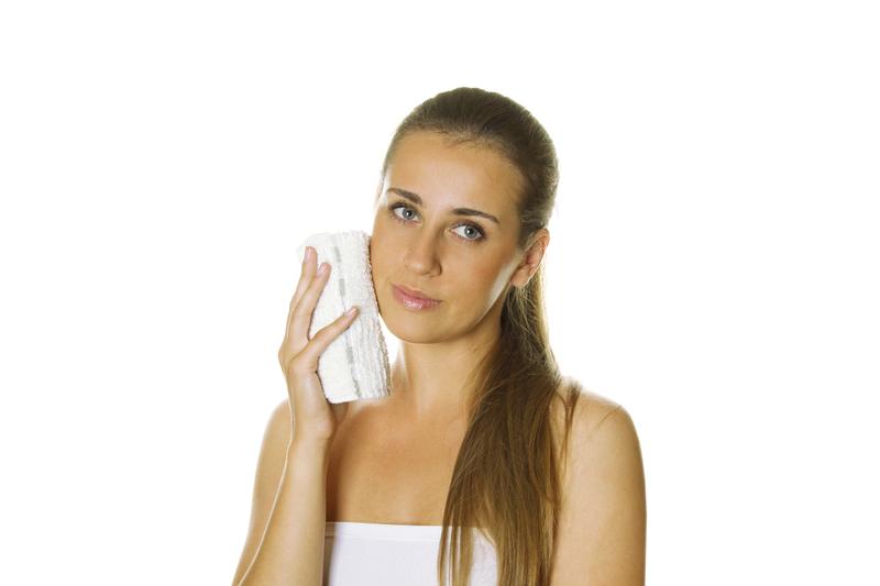 Cuidado facial limpeza