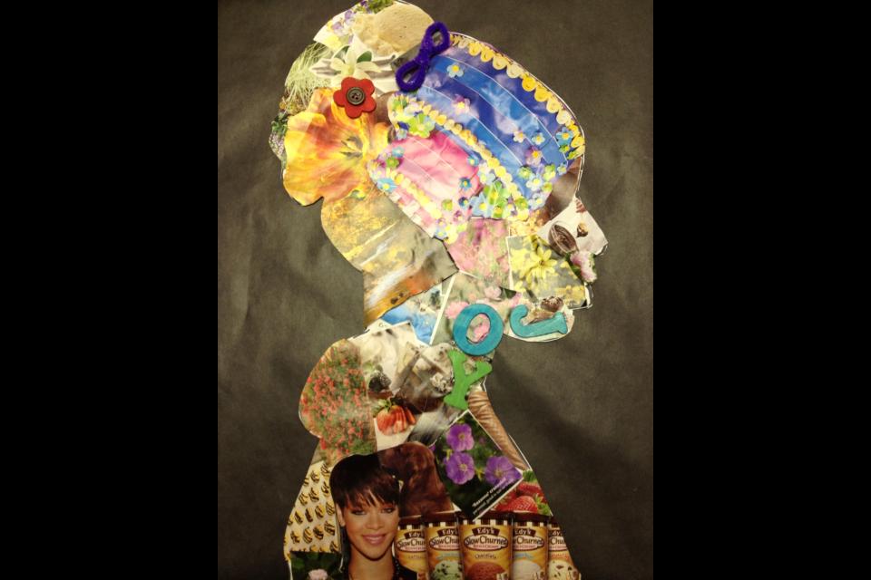 The Teacher with a Ponytail: 4th Grade Art Lesson: Della ...