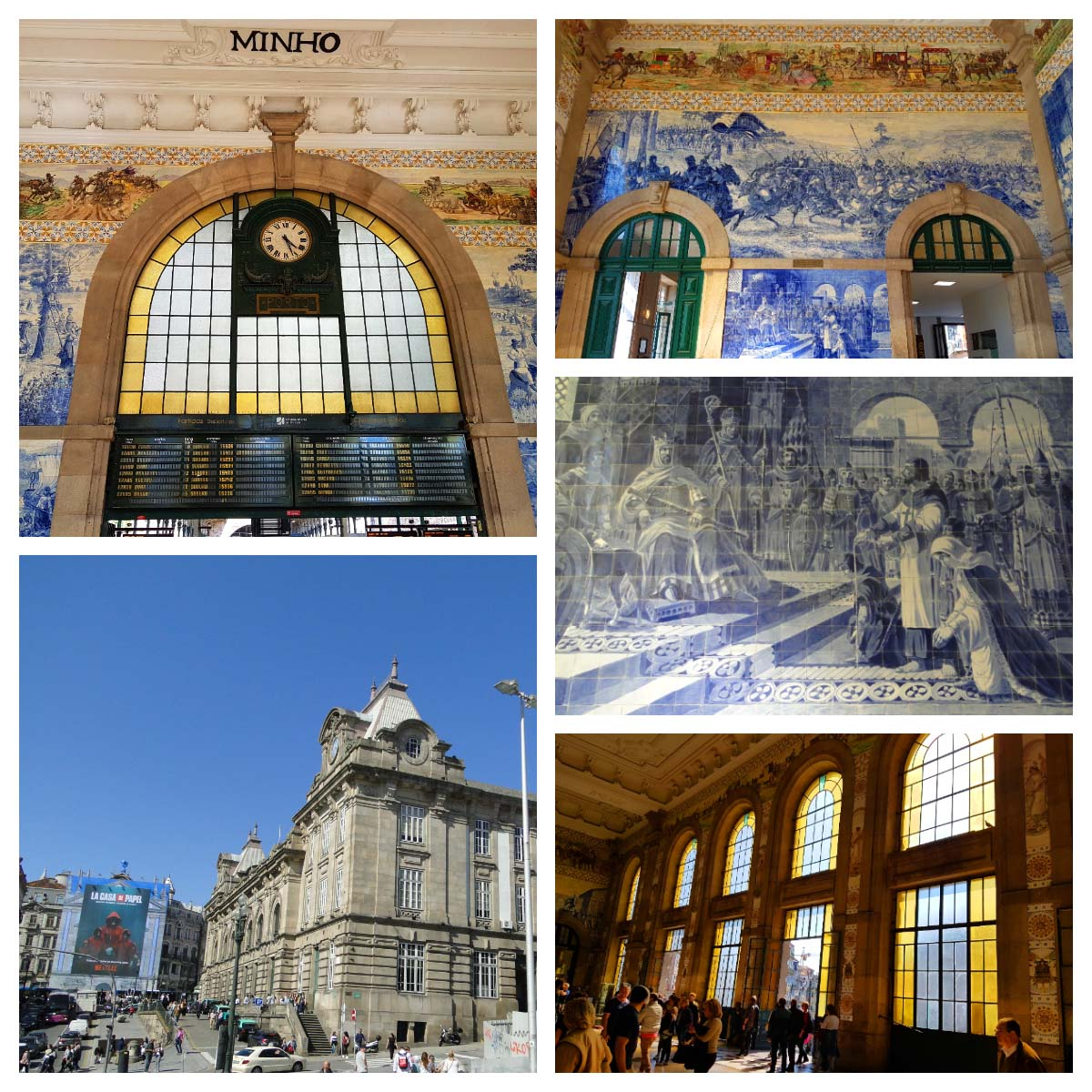 10 Lindas estações de trem - Estação São Bento,Porto.