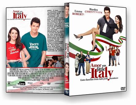 CAPA DVD – AMOR EM LITTLE ITALY DVD-R