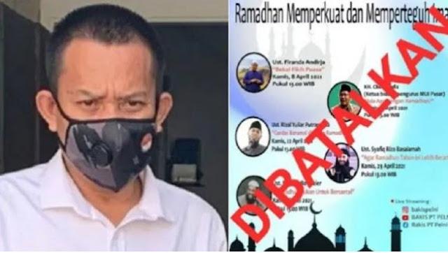 PT Pelni Pecat Pegawai yang Bikin Pengajian, Netizen : Apa Itu Radikal?