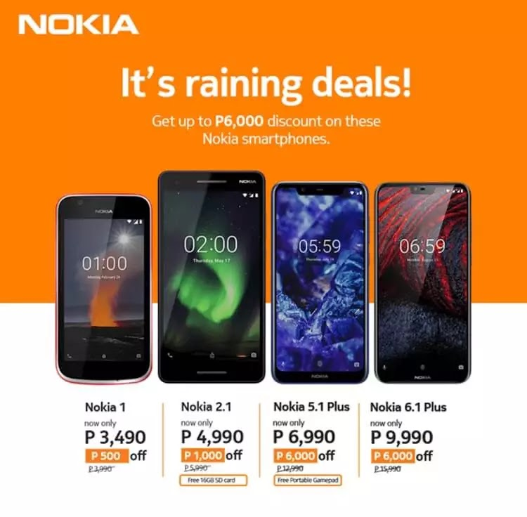 Nokia Announces Rainy Season Promo