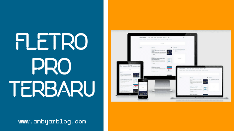Template Blogger Fletro Pro Premium Terbaru Gratis