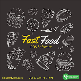 Restaurant Management Software for Fast Food Billing Counters