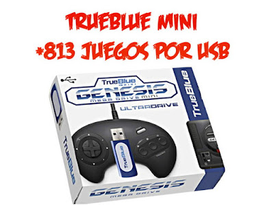 trueblue mini ampliacion megadrive mini