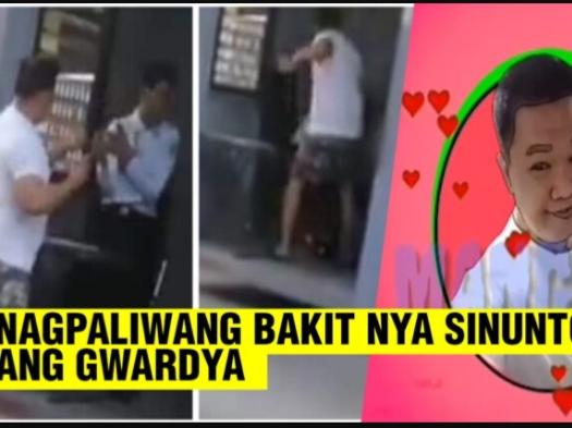 WATCH: Security Guard binugbog ng isang Vlogger na si Mang Jun