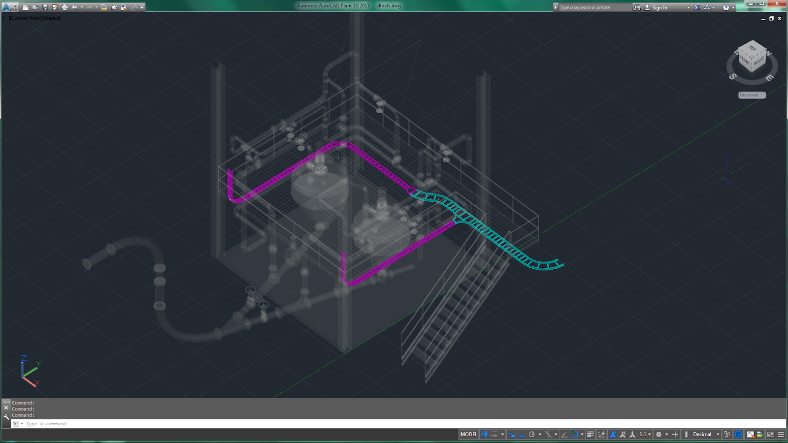 AutoCAD Add-ons: Python Cable Tray for Plant 3D