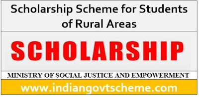 Scholarship Scheme for Students of Rural Areas