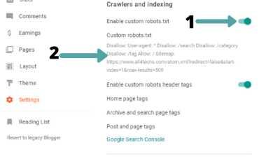 fix-the-robots-txt-file-in-blogger-custom-roboto-txt