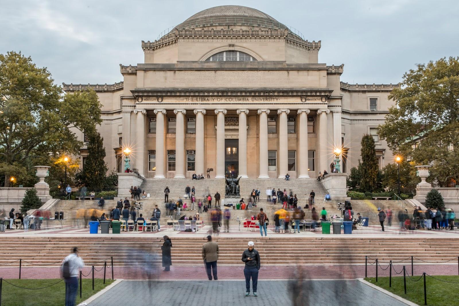 جامعة كولومبيا: معلومات عنها وتاريخها ومكانها