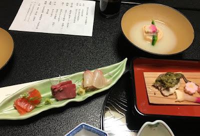 富士屋の夕食