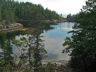 Copeland Islands, Canada, a stone's throw from Lund on our Desolation Sound sailing trip