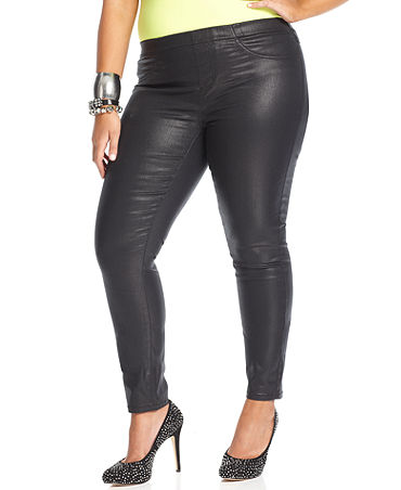 Shapely Shopping Share of the Day: Coated Jeans - Shapely ...
