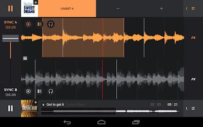 تطبيق edjing PRO - Music DJ mixer v1.06.01 النسخة المدفوعة للأندرويد مجاناً