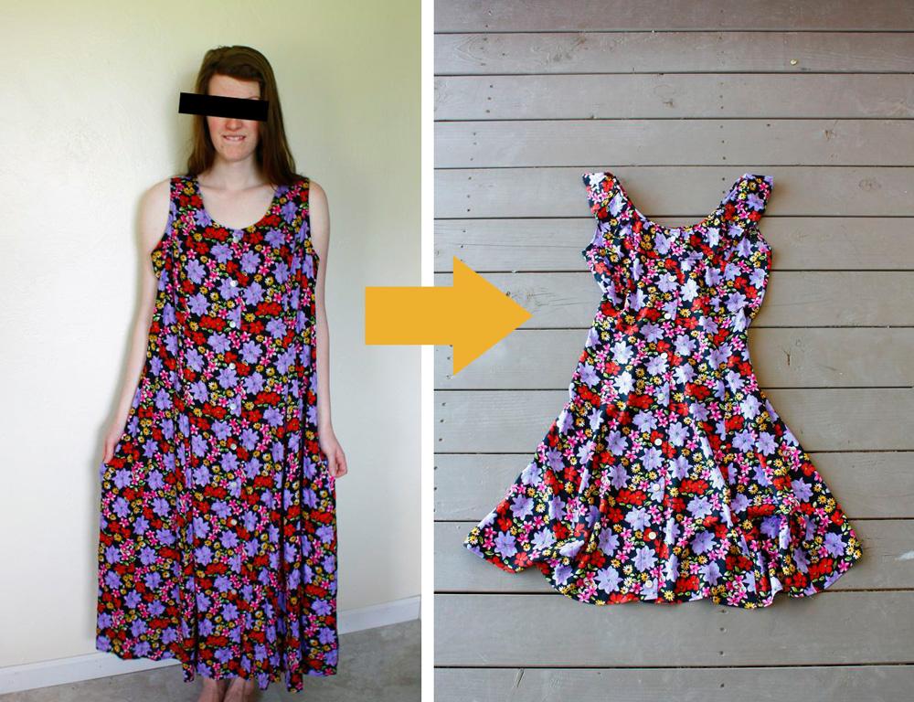 Dress Refashion (Tutorial)