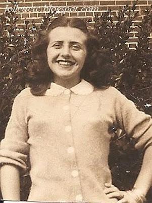Mary Eleanor Davis 1946 or 1947  https://jollettetc.blogspot.com