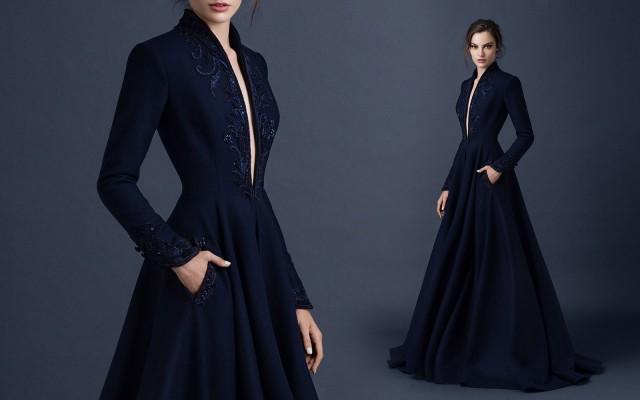 vestidos casuales con manga