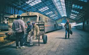 اصطدام  قطارين بمحافظة سوهاج في مصر