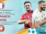Link Live Streaming Euro 2020, Prancis Vs Swiss
