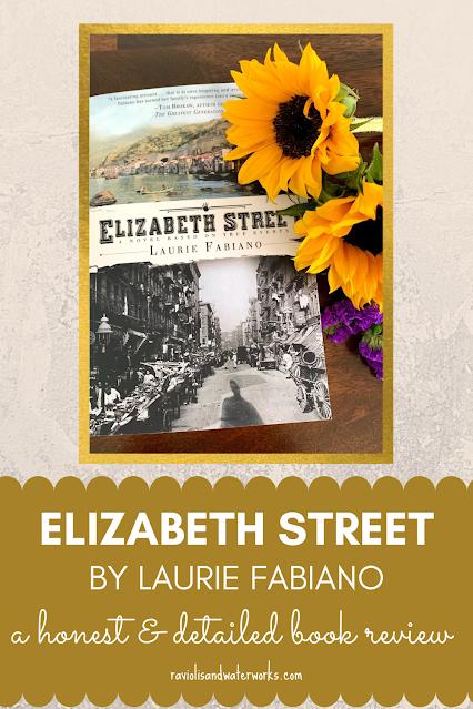 book review of elizabeth street historical novel
