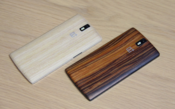 OnePlus One bamboo and wood StyleSwap covers