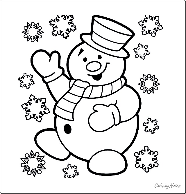 15 Cute Christmas Coloring Pages for Kids Free Printable ...