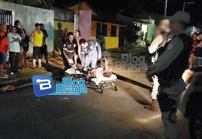 BARREIRAS: HOMEM É ESPANCADO POR UMA TURBA NO BAIRRO VILA DULCE