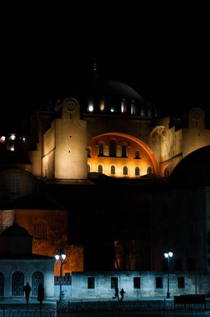 At night around Istanbul, Turkey