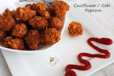kids snack easy  vegetarian healthy snack recipes with cauliflower / gobi party meals or kids meals cauliflower recipe