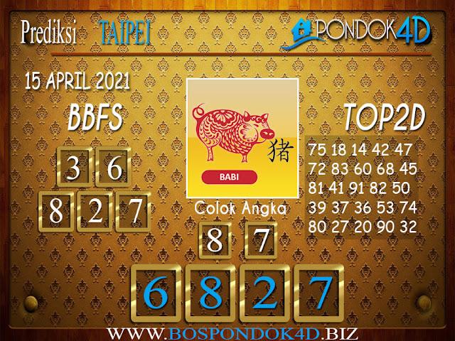 Prediksi Togel TAIPEI PONDOK4D 15 APRIL 2021