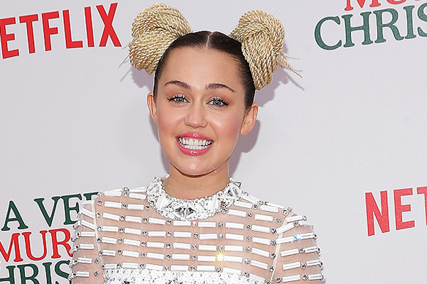 Miley Cyrus at the premiere of the new film by Sofia Coppola and Bill Murray