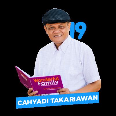 Cahyadi Takariawan konselor keluarga penulis buku wonderful family series