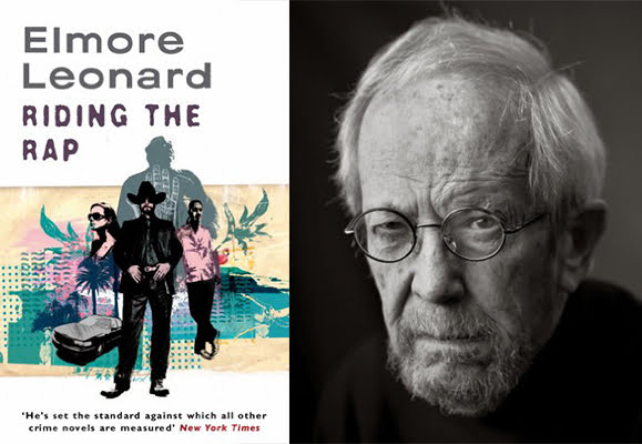 Elmore Leonard with Riding the Rap